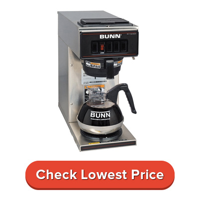 BUNN 13300.0001 VP17-1SS Pourover Coffee Brewer