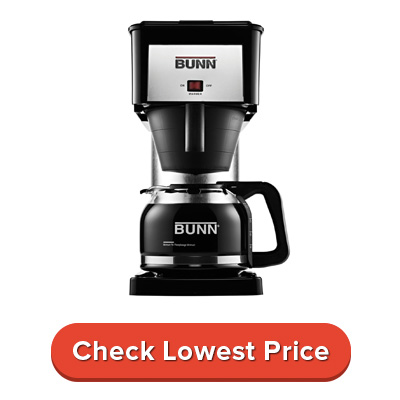 BUNN BXB Velocity Brew 10-Cup Home Coffee Brewer