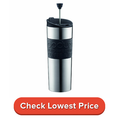 Bodum Insulated Stainless-Steel Travel French Press