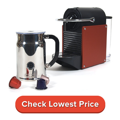 Nespresso Pixie Dark Red Espresso Machine