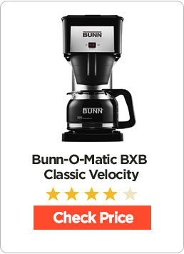 Bunn Bxb Velocity Brew 10 Cup Home Coffee Brewer