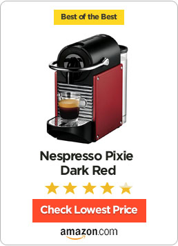 Nespresso Pixie Dark Red
