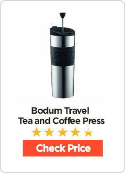 Bodum Insulated Stainless Steel Travel French Press