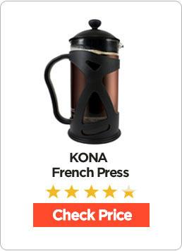 KONA French Press Coffee Review