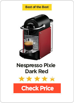 Nespresso Pixie Dark Red Review
