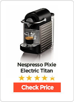Nespresso Pixie Espresso Maker Electric Titan Review