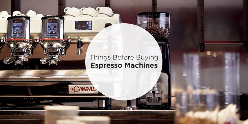 before buying espresso machine