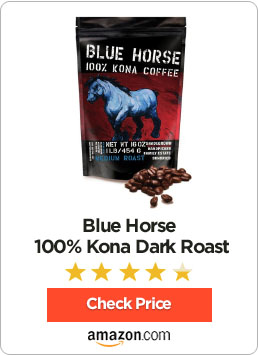Blue Horse 100% Kona Dark Roast